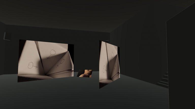 3D Anischt der Installation.